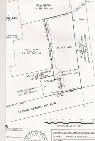 Yellow Springs Commercial Lot