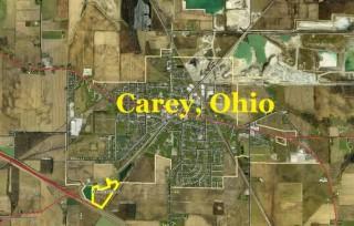 20.8 Acres +/- For Sale - Carey, Ohio