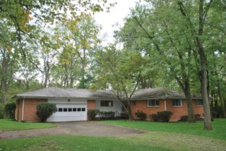 Absolute Auction Residential Home on 3.764 Wooded Acres