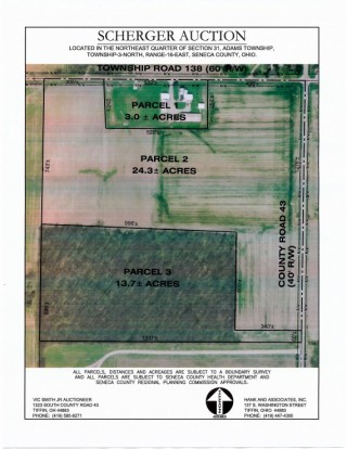 Scherger Auction - Seneca County Home & Land