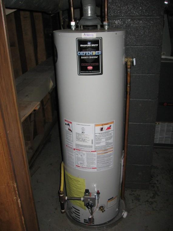 Newer water heater