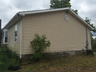 4BR, 2 Ba Sistersville, WV Online Only Auction