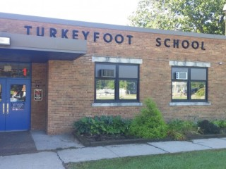 Turkeyfoot School and 7 Acres of Land