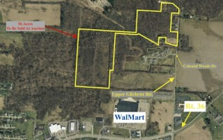 56 Acres of Bank Owned Property Sells on-line