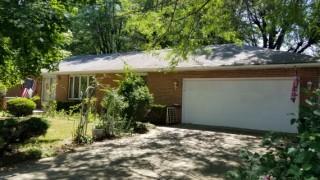 $95,000. Minimum Bid On-Line Auction Splendid Single Family Brick Ranch Home