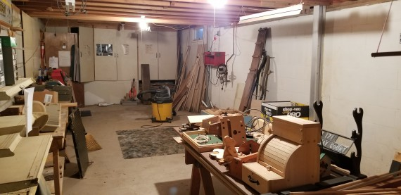 Full Basement With Walk Out Stairs Into The Two Car Garage