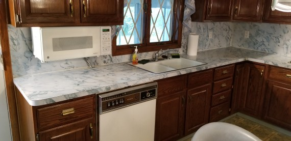 Dishwasher & Under Counter Microwave Oven