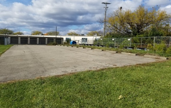 12 Existing Paved Parking Spaces   Rear Access Road