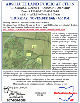 ABSOLUTE LAND AUCTION