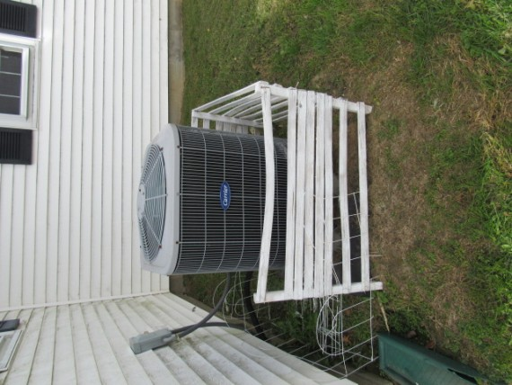 Newer A/C unit