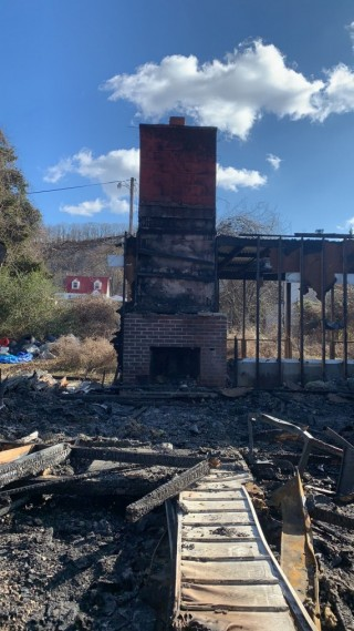 Fire Damaged Bank-owned Charleston Home