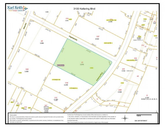 Tract 1 Plat Map