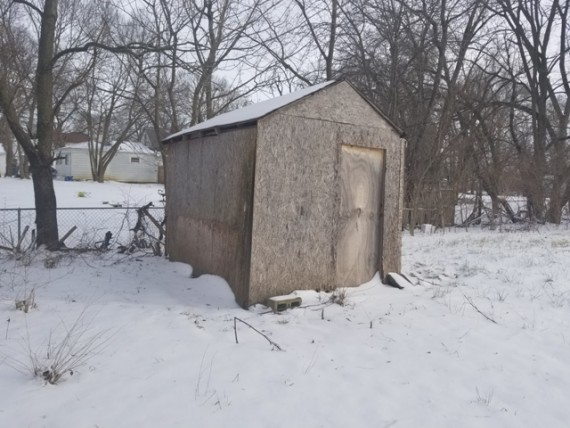 Existing Storage Shed