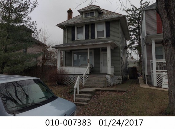 What this house use to look like in 2017.