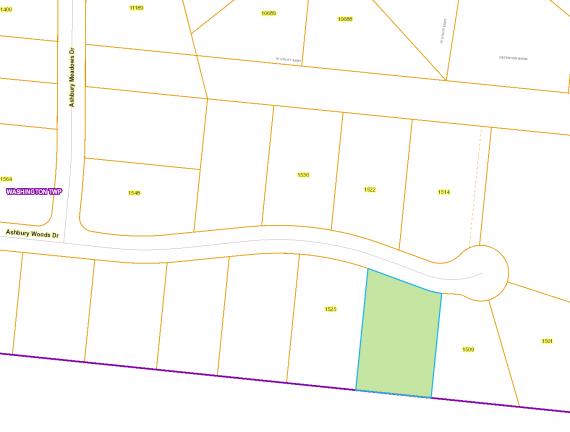 (Lot 1) 1517 Map