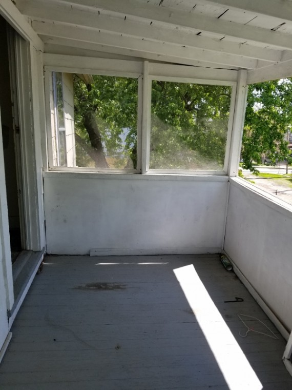 Upstairs Enclosed Porch