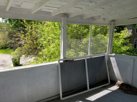 Upstairs Enclosed Porch