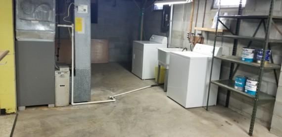 Washer, Dryer & Mechanicals