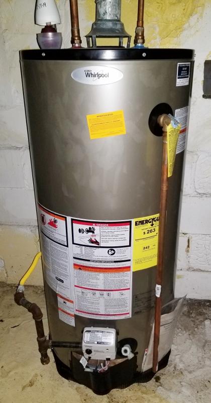 Gas Hot Water Tank