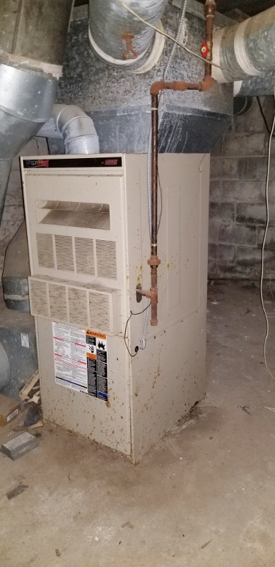 Lennox Gas Fired Furnace