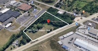 5.57 Commercial Acres in Clayton Near I-70