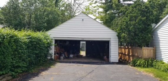 Two Car Detached Garage Alley Access