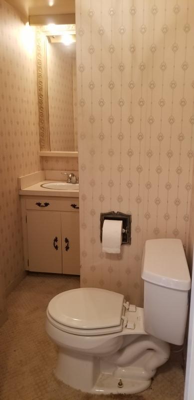 First Floor Half Bath Room