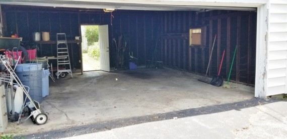 Two Car Detached Garage