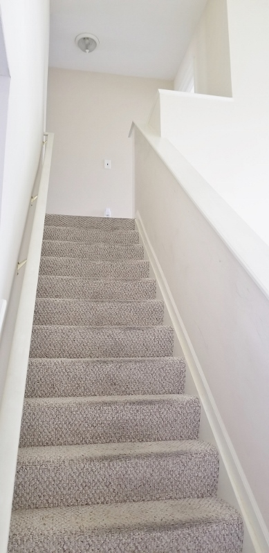 Stairs Leading To Second Floor Living Spaces