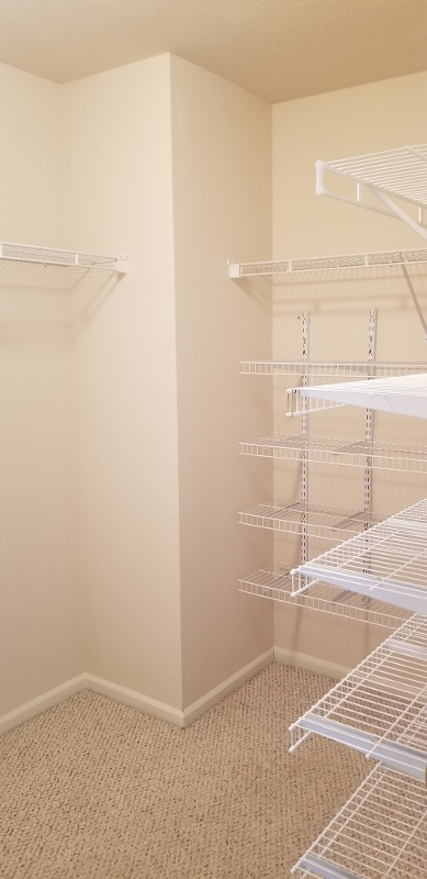 Upstairs Bed Room Walk-in Closet