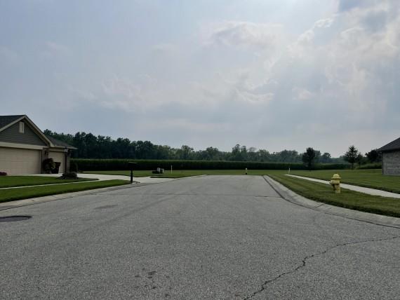 Stub street to future development lot 2