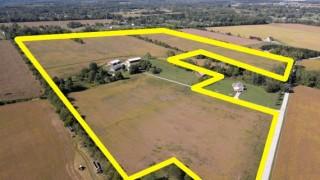 New 3BR Brick Ranch~Barns~70+ Acres, Xenia, OH