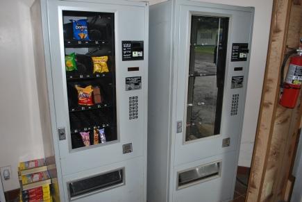 Vending machine in Lobby