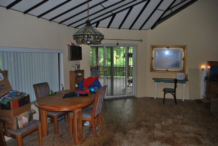 Living room of owner's suite