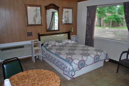 Typical room with Queen bed