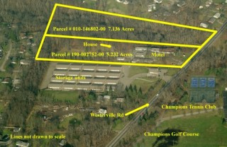 Absolute Auction of 23 Unit Motel & House in Columbus