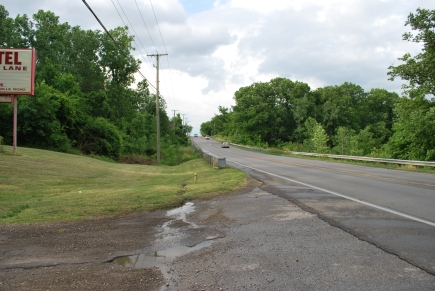 Westerville Rd. looking North