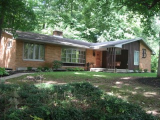 Large Ranch Home with basement on over a half acre lot.