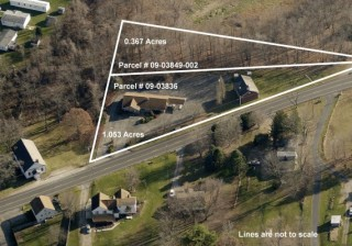 Absolute Auction of 2,000+ SF Commercial Building on 1.42 Acres