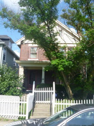 4 bedroom brick home with off street parking and privacy fence back yard as a great RENTAL PROPERTY.