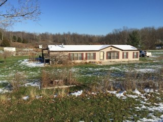 Absolute Auction of 3BR on 8.104 Acres in Hillsboro, Ohio